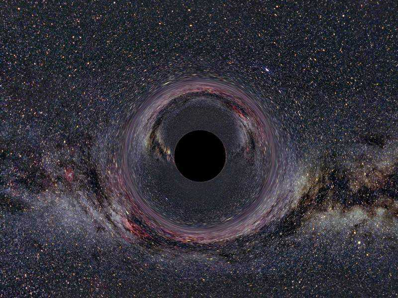 black-hole-distortion