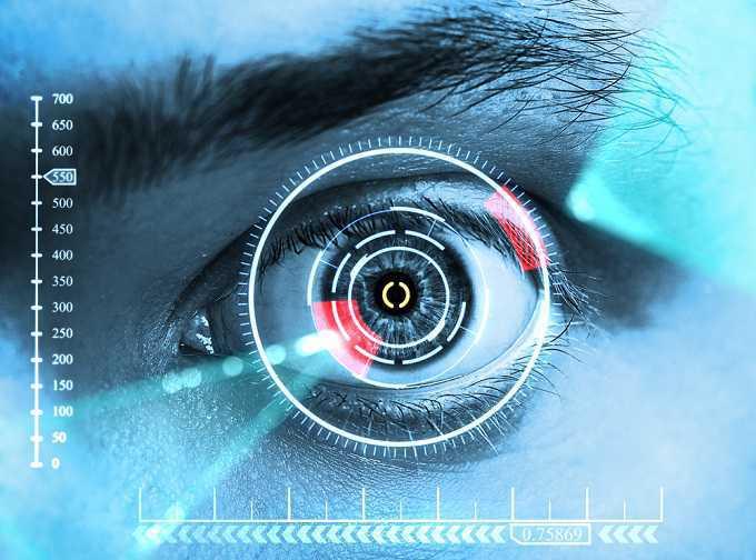 сканер сетчактки глаза