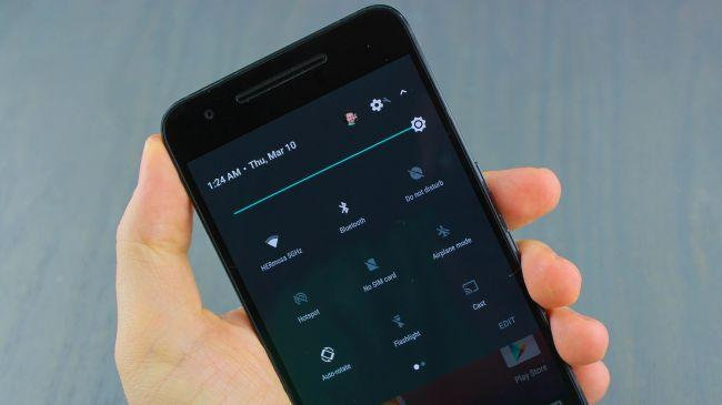 android-n настройка быстрогшо меню