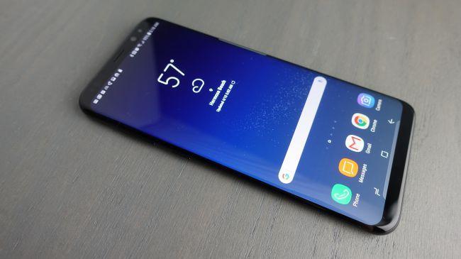 Samsung Galaxy S8 Plus - дисплей