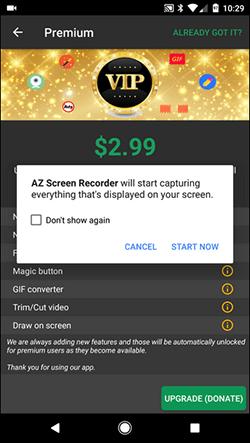 Как записать видео с экрана Android-смартфона