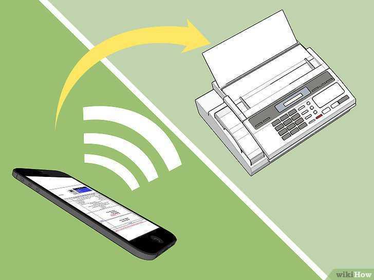 Как отправить документ по факсу со смартфона?