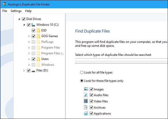 Как найти и удалить повторяющиеся файлы в windows?