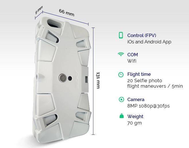 SELFLY - селфи-дрон для смартфона